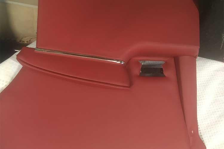 60s Mercedes Coupe door trim after
