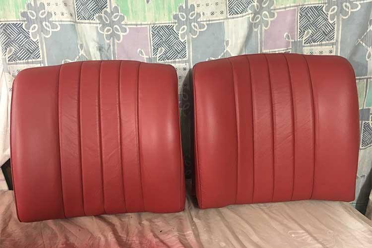 Jaguar car seats after